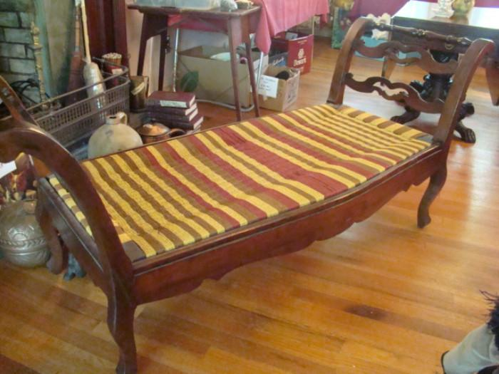 MAHOGANY DAY BED