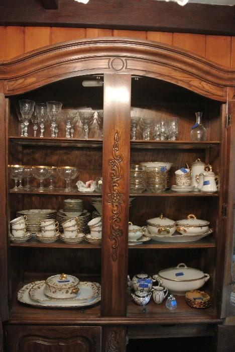 Assorted China & Glassware