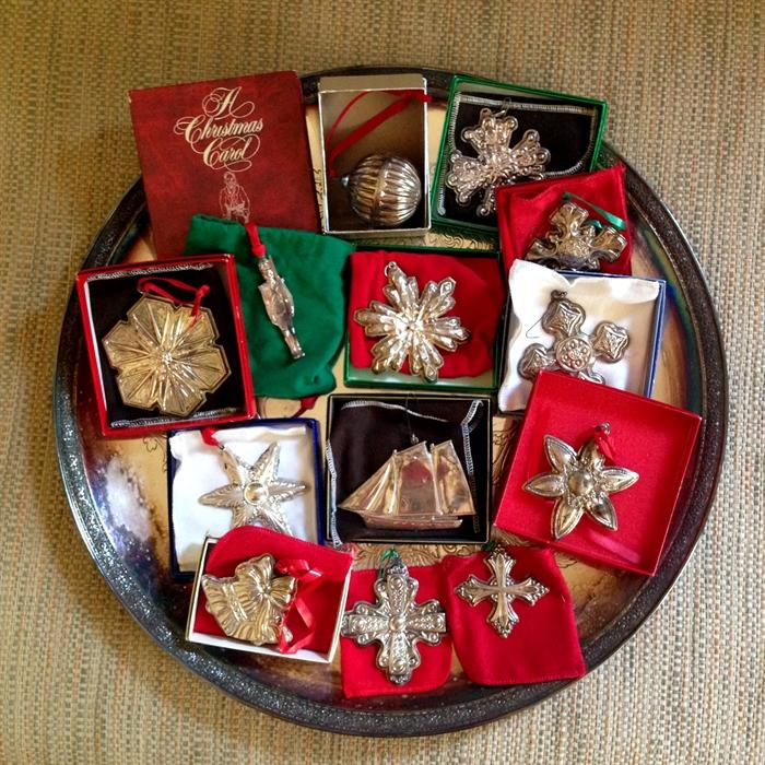 Sterling Ornaments