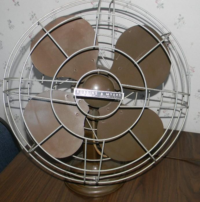 Robbins & Myers electric fan in good, working condition