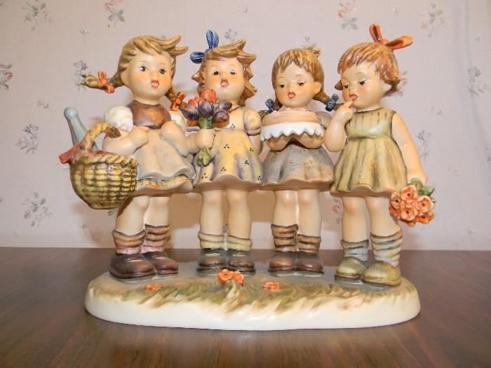 """We Wish You the Best""  8"" Hummel figurine"