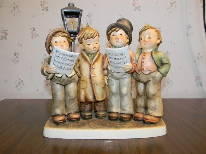 """Harmony in Four Parts.  8"""" Hummel figurine."""