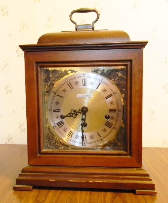 Barwick clock.  Has key.
