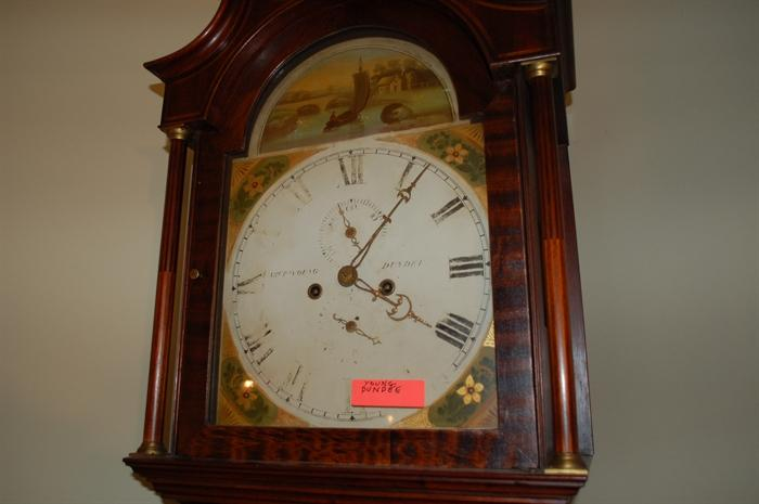 Grandfather Clock from Dundee Scotland. Crafted by William Young.