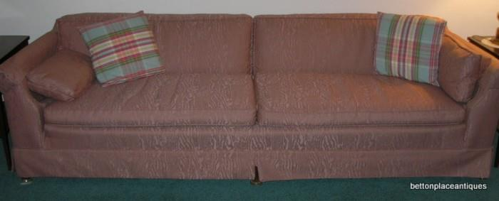 Large 7 ft Sofa, very clean & comfortable......cash only, bring help to load