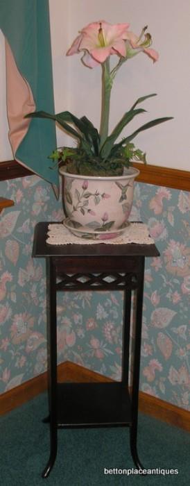 Plant stand...Mahogany