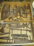 Old Hinges, primitive tools