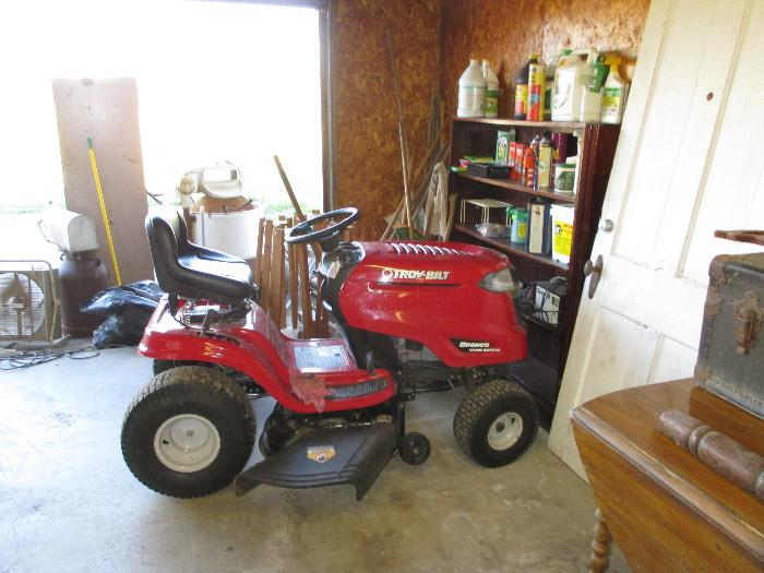 "42"" Troybilt, 19 HP, 1 year old"