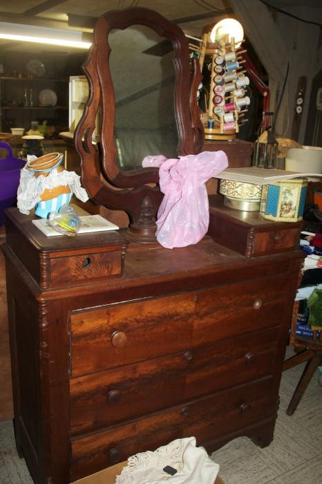 Lots of great antique furniture here!