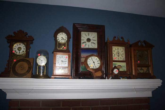 Antique clocks - come and view!