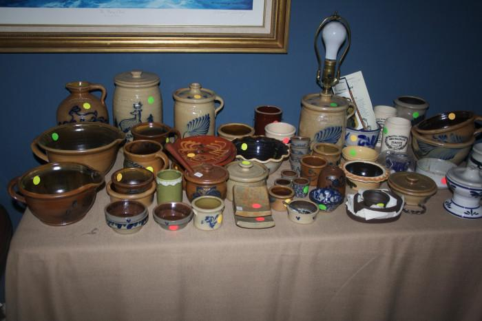 Loads of collectible pottery!