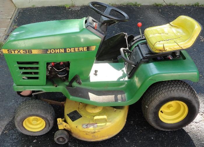 John Deere, Lawn Mower, Lawn Tractor