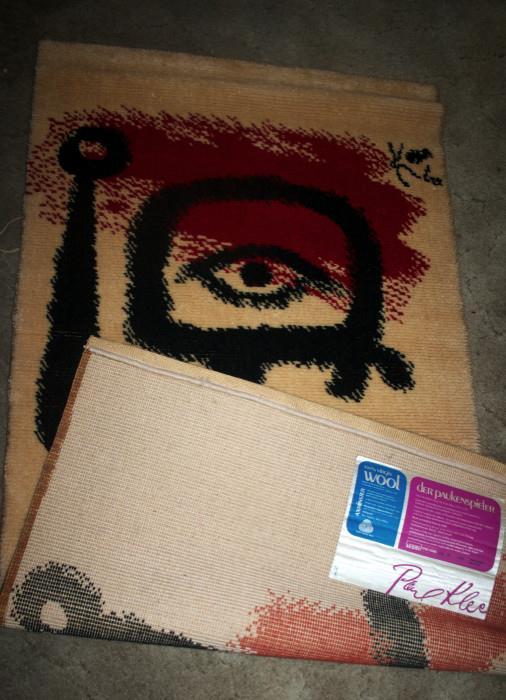 Limited Edition Wool Paul Klee Der Paukenspieler (The Drummer Boy)