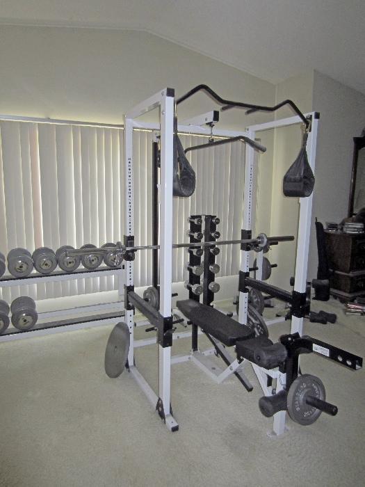 A whole gym