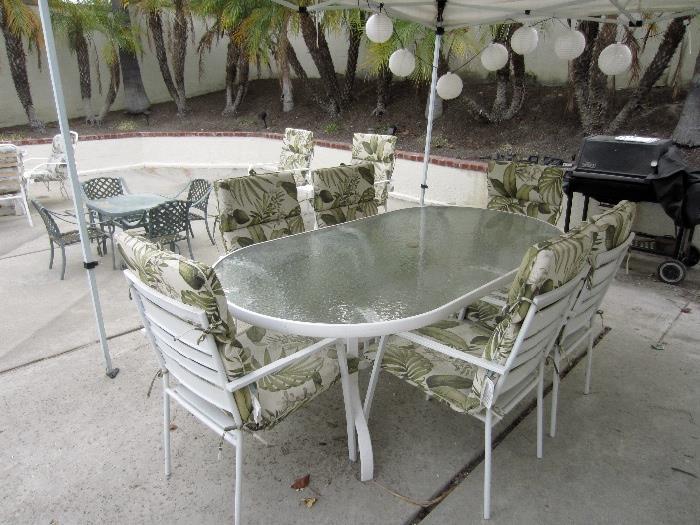 Loads of patio furniture