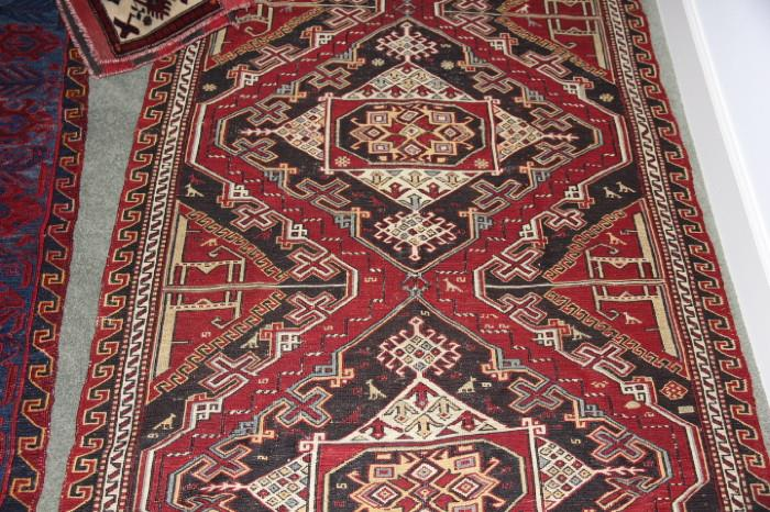 Many great carpets in this sale, collected when the owner lived overseas