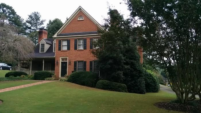 Lovely home in Dunwoody, where Stepford Wife factories are like crack houses in other parts of the ATL