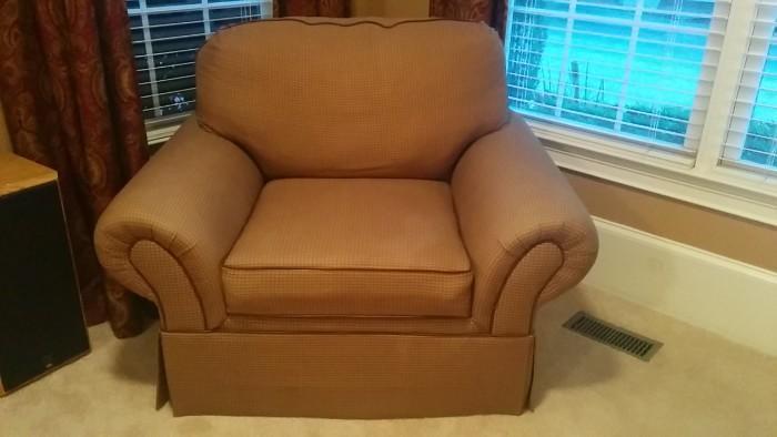 Overstuffed armchair quarterback
