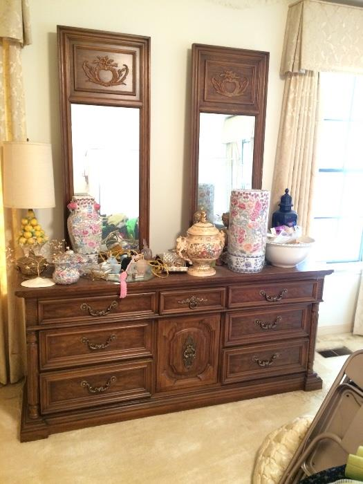 ANOTHER DIXIE DOUBLE MIRROR DRESSER
