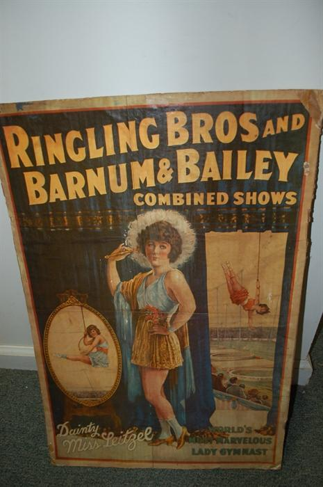 Ringling Bros and Barnum & Bailey Poster