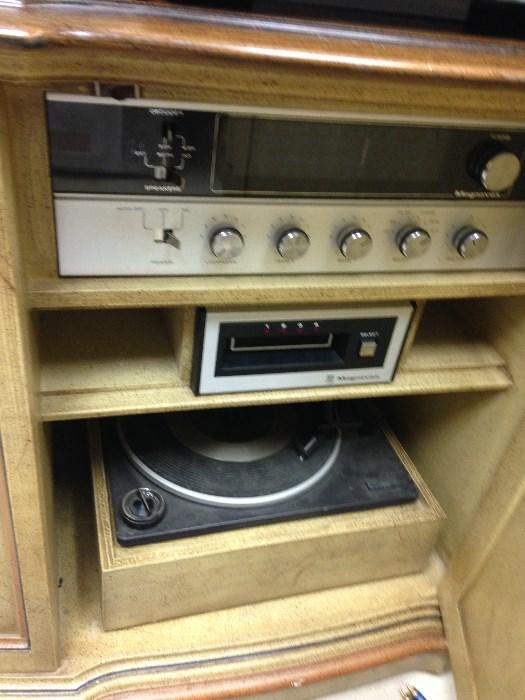 Magnavox stereo cabinet