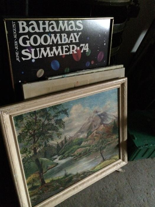All types of Art, serigraphs, prints, paintings,