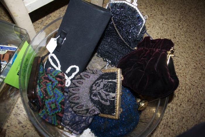 Antique & vintage beaded purses