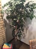 FAUX GREEN TREE HOME DECOR'