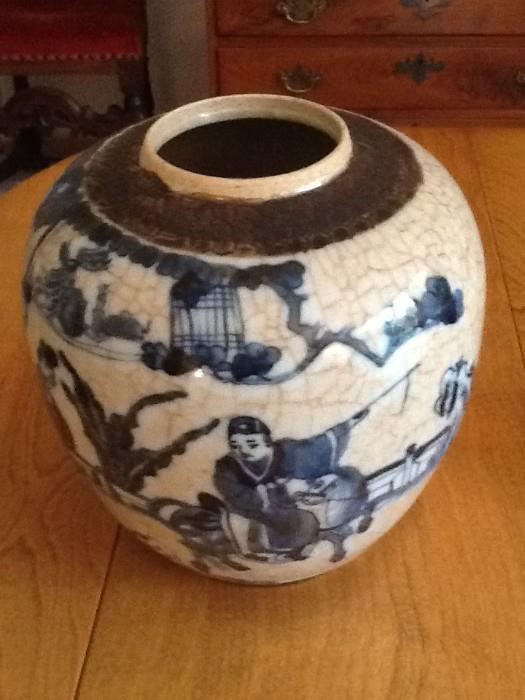 Late 1800's Chinese Ginger Jar