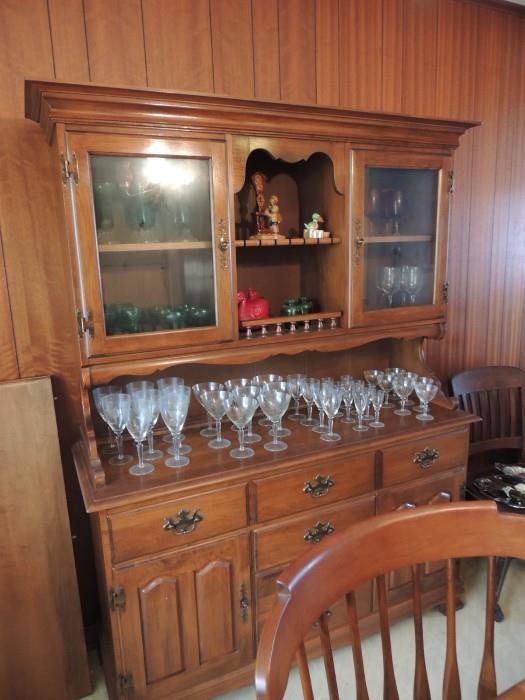 Heywood Wakefield china cabinet
