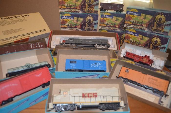 42 piece train set