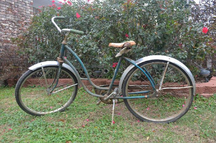 1950's Texas Rangerette Bicycle (original paint)