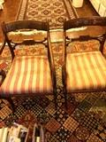 Pair of antique chairs (as is)