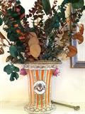 One of two lovely antique vases