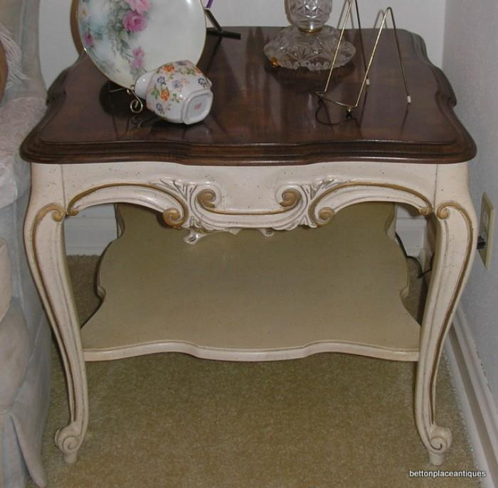 French provincial End-Table