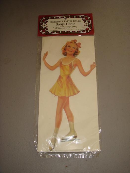 Sonja Henie paper doll