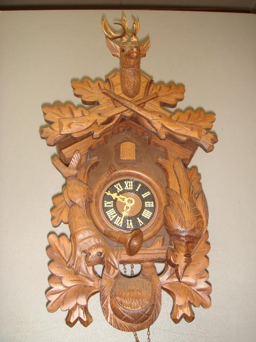 cuckoo clock - made in west germany - Albert Schwab - Karlsruhe -