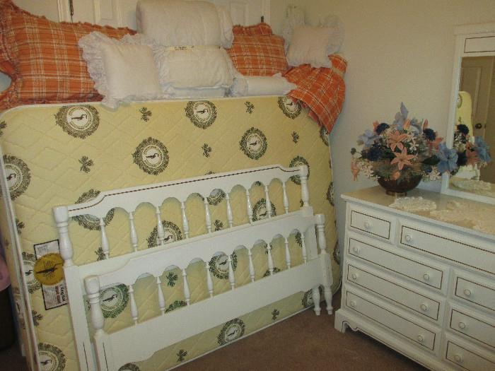 Another View Of The Full Size Bed, Headboard and Foot Board