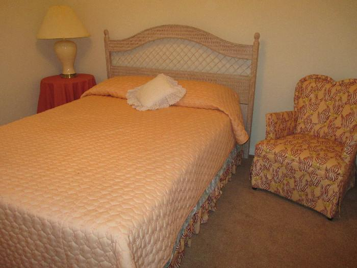 Another Full Size Bed With Sweet Bedroom Chair