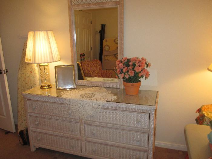 Another View of the Wicker Dresser