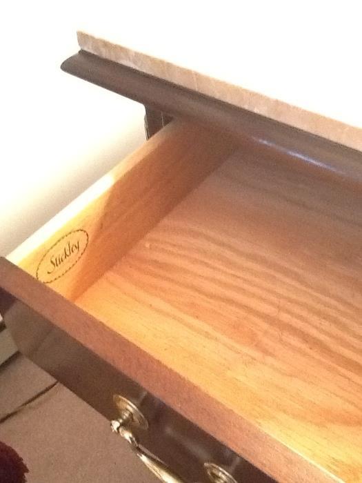 inside drawer