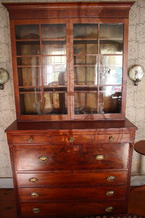 Federal period butlers desk/bookcase