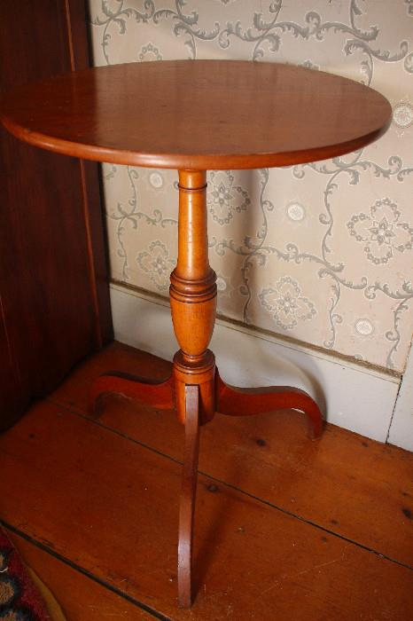 Antique cherry stand
