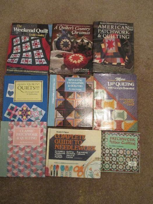 Many Quilting Books To Choose From