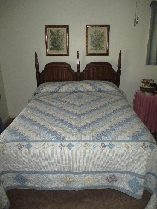 Queen Quilt Possibly Store Made