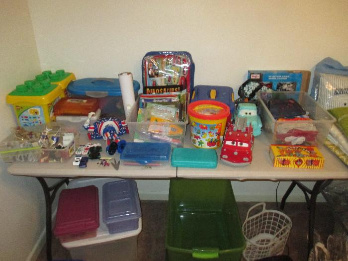 Nice Toys, Legos, Lincoln Logs, Playdough Items and More