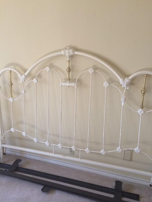 Iron king headboard