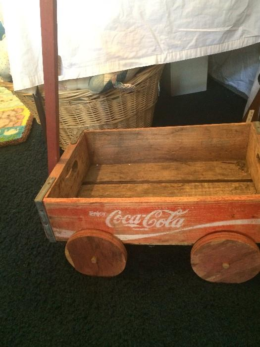 Coca Cola case wagon
