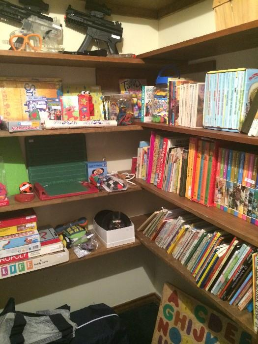 So many games, puzzles, & books or children
