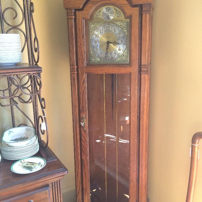 Howard Miller grandfather clock